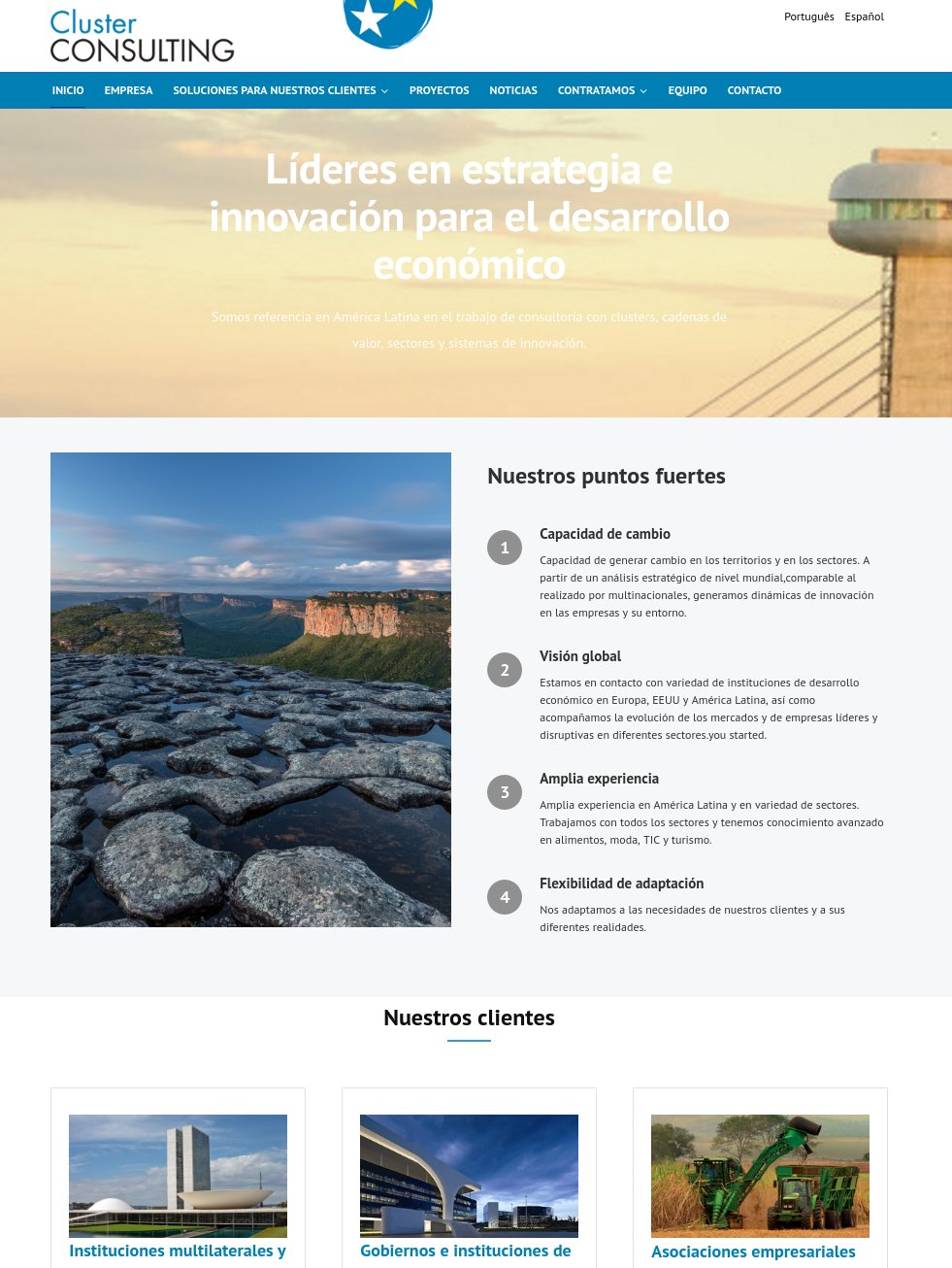 cluster consulting web joomla